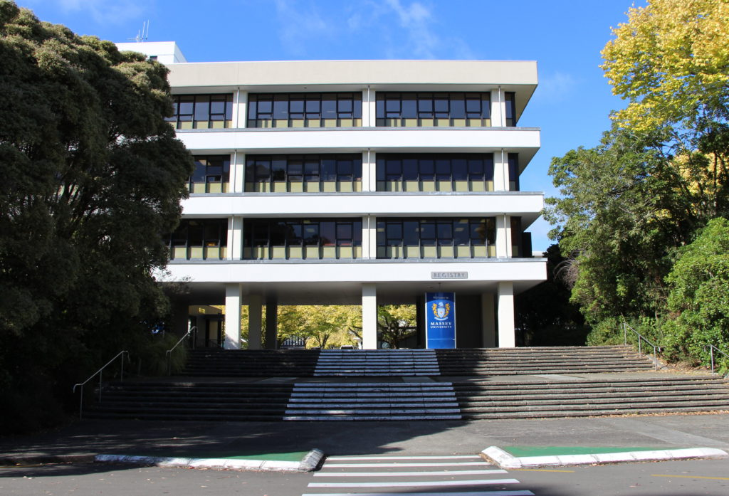 Massey University Palmerston North Campus New Zealand 01