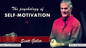 Psychology of self motivation by scott geller a visual summary