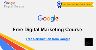 Google Free Digital Marketing Course | Free Certificate | Digital ...