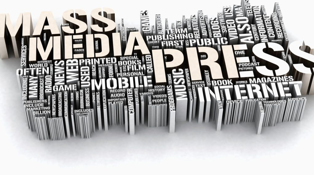 photo for media and press in journalism