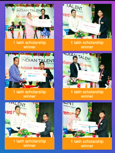 Indian Talent Olympiad Toppers